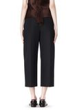 ALEXANDER WANG CROPPED PANT WITH DISTRESSED DETAIL PANTS Adult 8_n_a