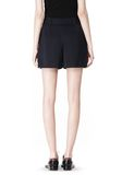 ALEXANDER WANG PLEATED FRONT SKORT WITH STUD DETAIL SKIRT Adult 8_n_a