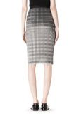 ALEXANDER WANG PLEATED SKIRT WITH RAW EDGE FINISH SKIRT Adult 8_n_a