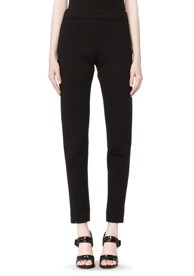 T by ALEXANDER WANG SCUBA DOUBLE KNIT TAPERED SWEATPANTS PANTS Adult 12_n_d
