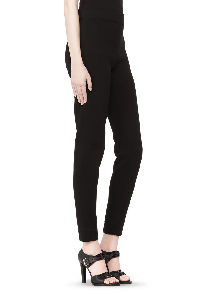 T by ALEXANDER WANG SCUBA DOUBLE KNIT TAPERED SWEATPANTS PANTS Adult 12_n_e
