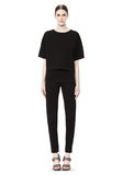 T by ALEXANDER WANG SCUBA DOUBLE KNIT TAPERED SWEATPANTS PANTS Adult 8_n_f