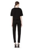 T by ALEXANDER WANG SCUBA DOUBLE KNIT TAPERED SWEATPANTS PANTS Adult 8_n_r