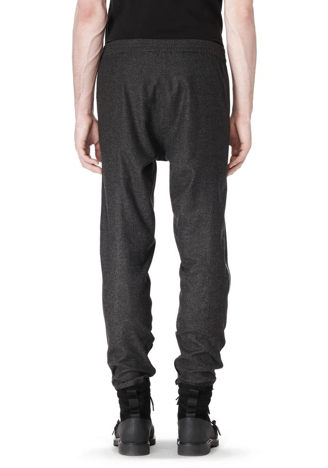 ALEXANDER WANG FRAMISED SEAM TRACK PANT PANTS Adult 12_n_d