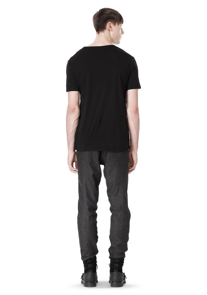 ALEXANDER WANG FRAMISED SEAM TRACK PANT PANTS Adult 12_n_r