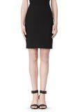 ALEXANDER WANG FITTED PENCIL SKIRT WITH TWO WAY ZIPPER SKIRT Adult 8_n_a