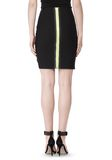 ALEXANDER WANG FITTED PENCIL SKIRT WITH TWO WAY ZIPPER SKIRT Adult 8_n_e