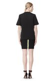 ALEXANDER WANG FITTED PENCIL SKIRT WITH TWO WAY ZIPPER SKIRT Adult 8_n_r