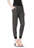 T by ALEXANDER WANG COTTON TWILL FRENCH TERRY SWEATPANTS PANTS Adult 8_n_e