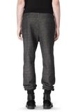 T by ALEXANDER WANG COTTON TWILL KNIT FRENCH TERRY SWEATPANTS PANTS Adult 8_n_d