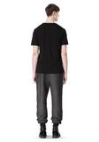 T by ALEXANDER WANG COTTON TWILL KNIT FRENCH TERRY SWEATPANTS PANTS Adult 8_n_r