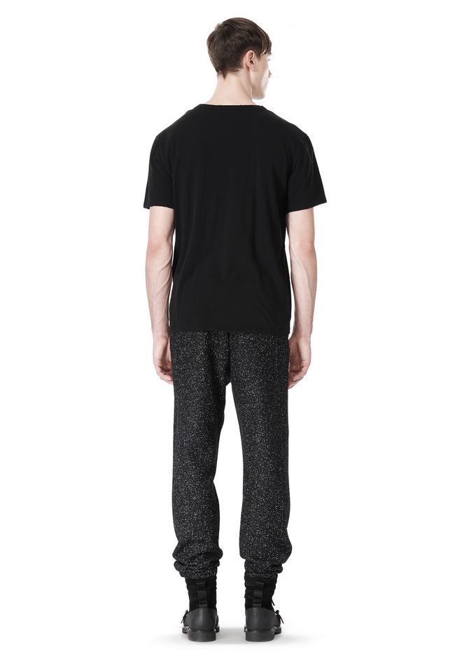 T by ALEXANDER WANG BOUCLE FLEECE TRACK PANTS PANTS Adult 12_n_r