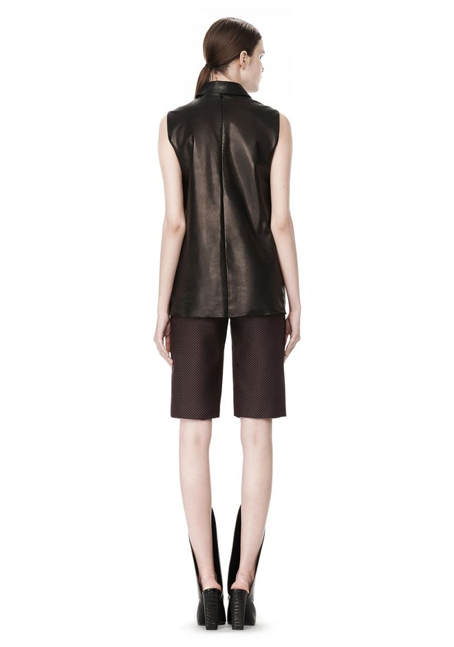 ALEXANDER WANG LOW WAISTED TAILORED SHORT SHORTS Adult 12_n_r