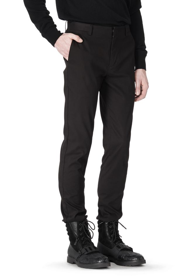 ALEXANDER WANG CLASSIC CHINO PANT WITH WELT POCKET PANTS Adult 12_n_a