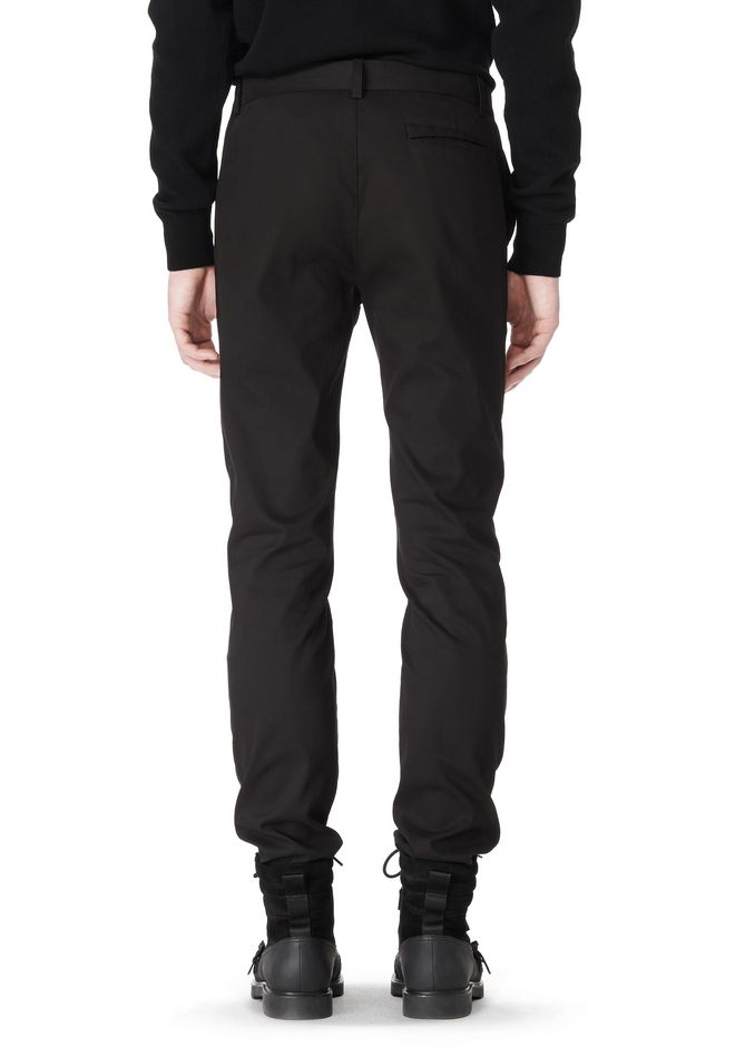 ALEXANDER WANG CLASSIC CHINO PANT WITH WELT POCKET PANTS Adult 12_n_d