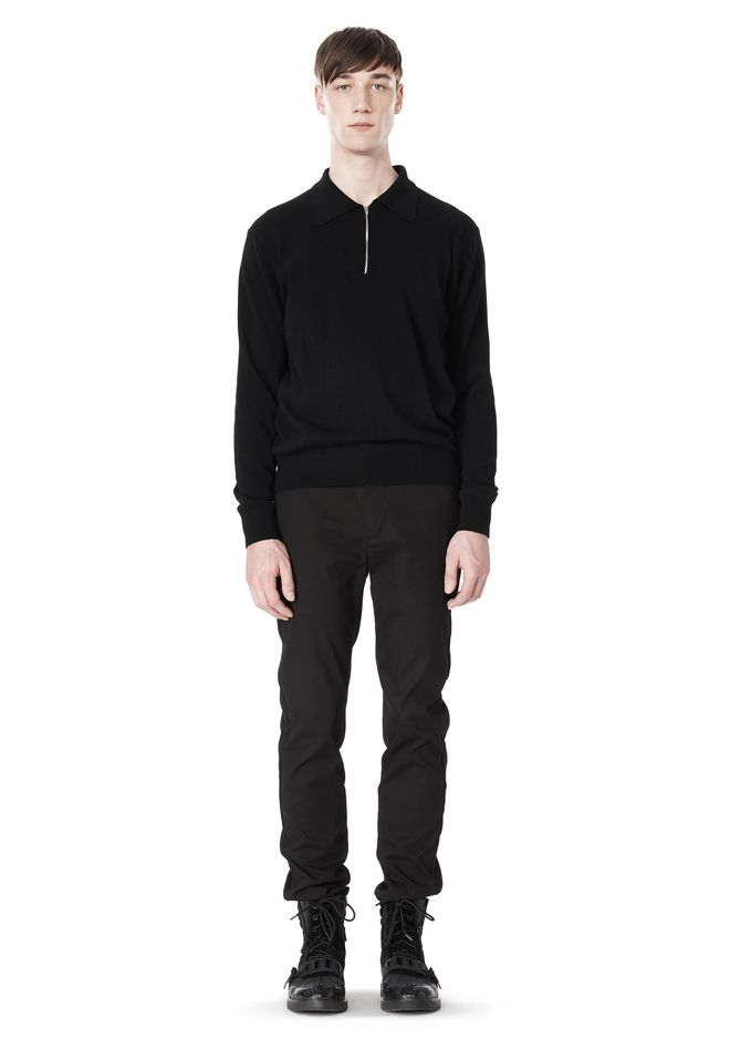 ALEXANDER WANG CLASSIC CHINO PANT WITH WELT POCKET PANTS Adult 12_n_f