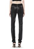ALEXANDER WANG FALL 2008 STRETCH LEATHER PANT    PANTS Adult 8_n_a