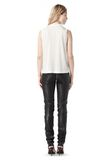ALEXANDER WANG FALL 2008 STRETCH LEATHER PANT    PANTS Adult 8_n_r