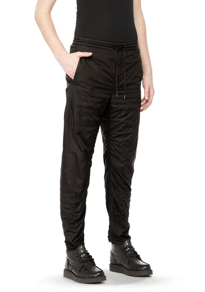 Alexander Wang QUILTED TRACK PANTS PANTS  Official Site : mens quilted pants - Adamdwight.com