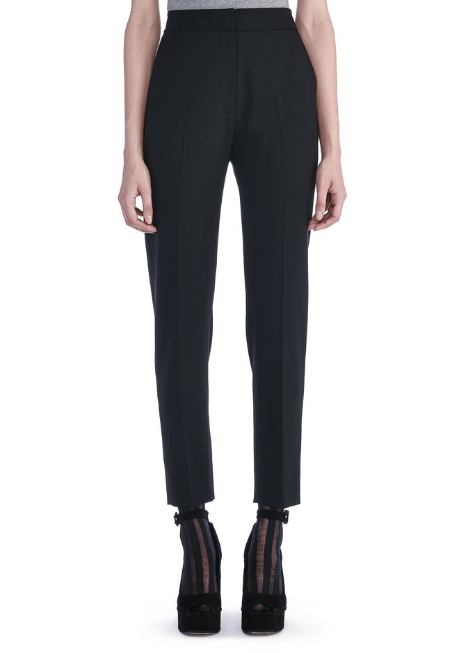Sale Online Cheap New Styles Online straight leg trousers - Black Alexander Wang Purchase Cheap Online Stockist Online Eastbay 5MwGEu