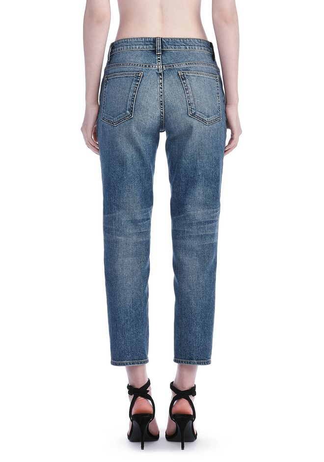 ALEXANDER WANG RIDE JEAN  DENIM Adult 12_n_d