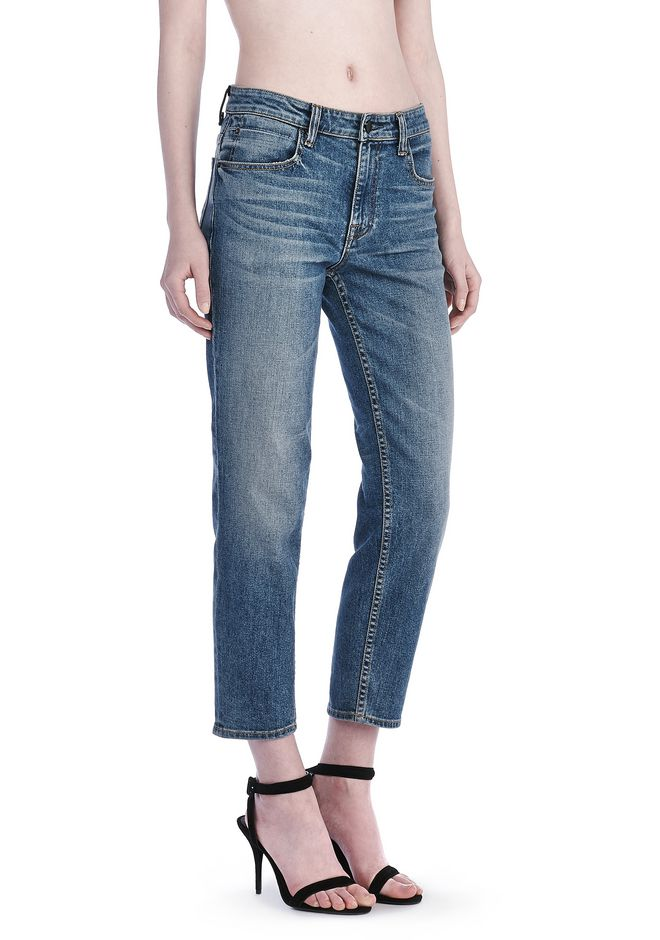 ALEXANDER WANG RIDE JEAN  DENIM Adult 12_n_e