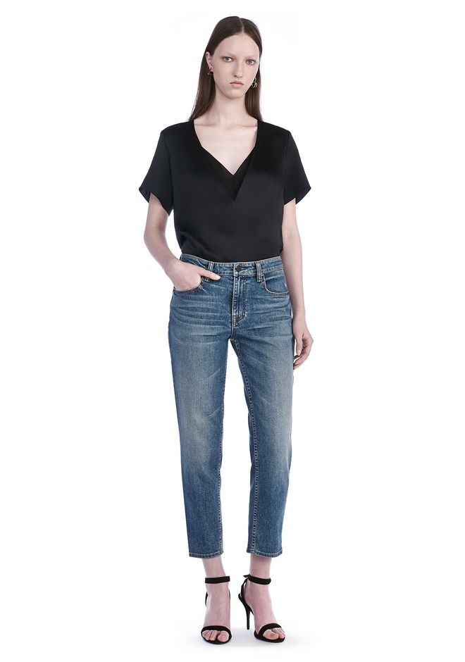 ALEXANDER WANG RIDE JEAN  DENIM Adult 12_n_f