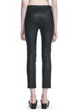 T by ALEXANDER WANG STRETCH LEATHER LEGGINGS  裤装 Adult 8_n_a