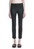T by ALEXANDER WANG STRETCH LEATHER LEGGINGS  裤装 Adult 8_n_d