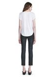 T by ALEXANDER WANG STRETCH LEATHER LEGGINGS  裤装 Adult 8_n_r