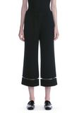 ALEXANDER WANG CROPPED PANT WITH FISHLINE TRIM PANTS Adult 8_n_d