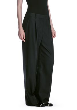 EXOTIC DANCER SINGLE PLEAT WOOL PANTS