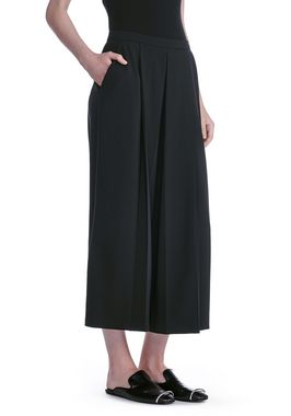 CROPPED PANTS WITH INVERTED PLEAT FRONT