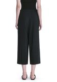 ALEXANDER WANG CROPPED PANTS WITH INVERTED PLEAT FRONT PANTS Adult 8_n_a
