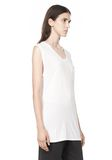 T by ALEXANDER WANG CLASSIC MUSCLE TEE WITH POCKET TEE Adult 8_n_a