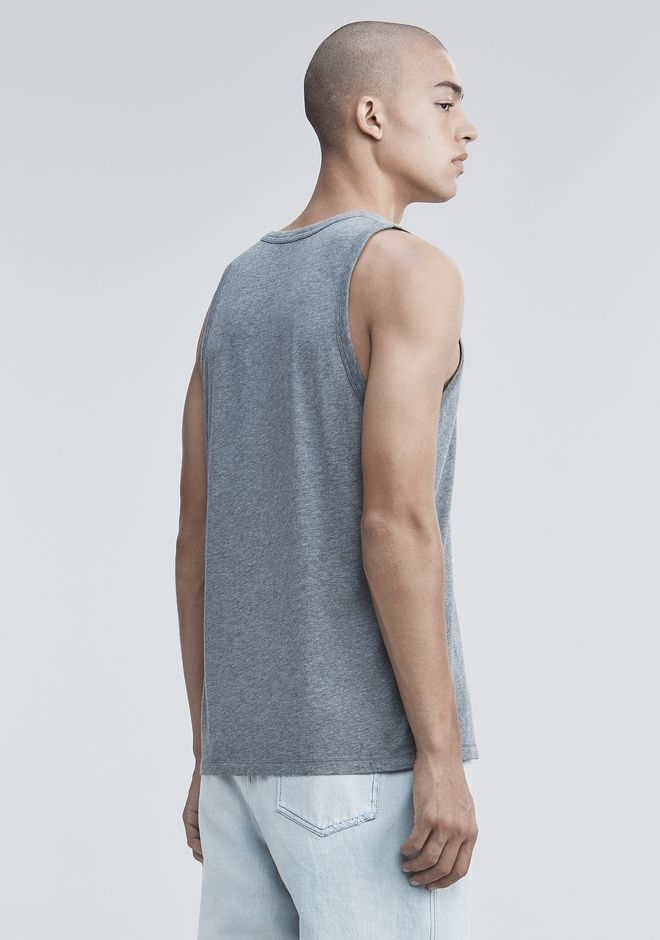 T by ALEXANDER WANG TANK WITH POCKET TANK Adult 12_n_d