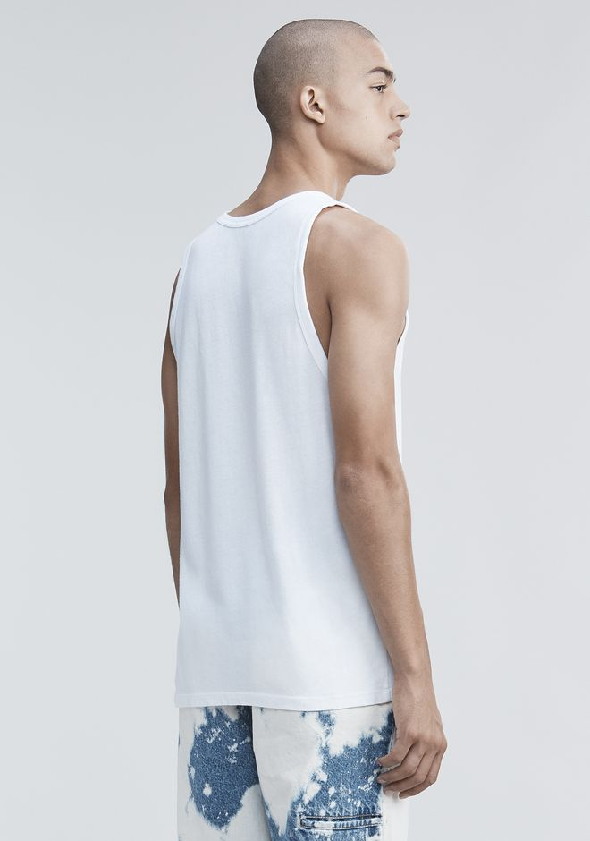 T by ALEXANDER WANG TANK WITH POCKET TANKTOP Adult 12_n_d