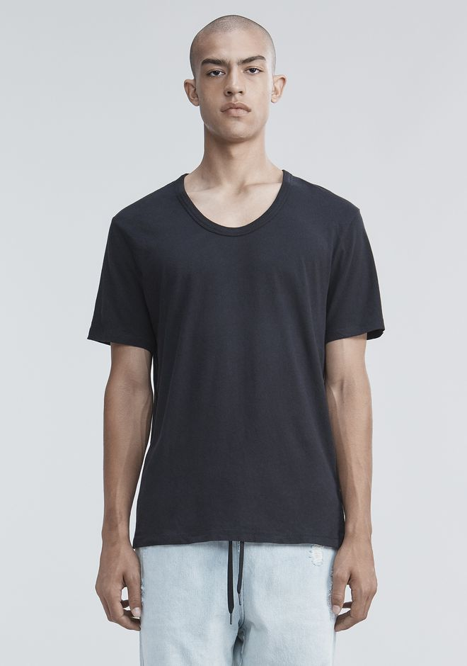 T by ALEXANDER WANG mens-classics CLASSIC LOW NECK TEE