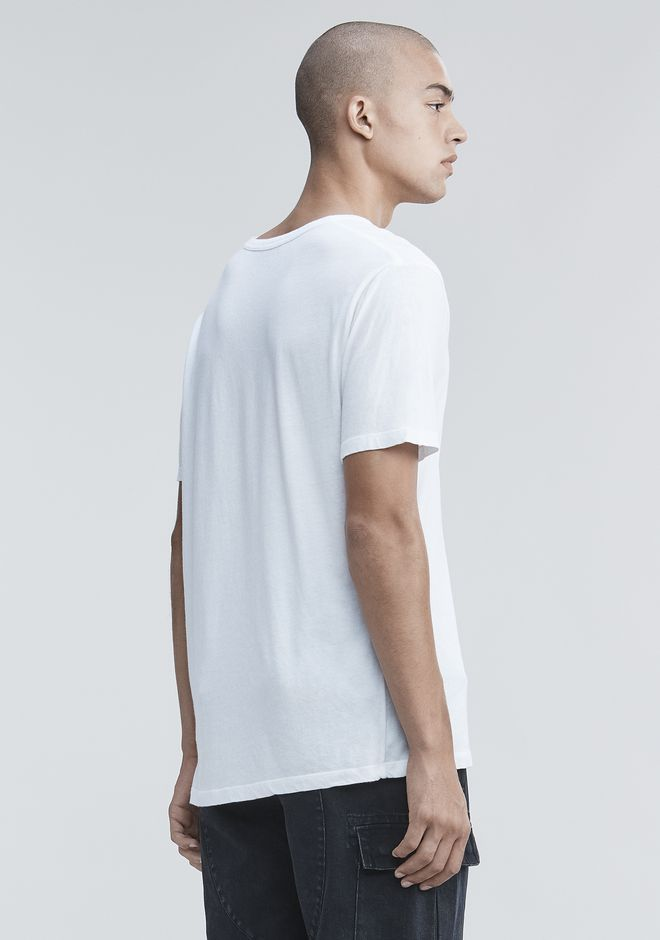 T by ALEXANDER WANG LOW NECK TEE T-SHIRT Adult 12_n_d