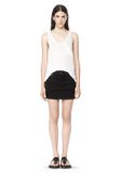 T by ALEXANDER WANG CLASSIC TANK WITH POCKET TOP Adult 8_n_f