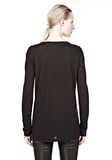 T by ALEXANDER WANG CLASSIC LONG SLEEVE TEE WITH POCKET Long sleeve t-shirt Adult 8_n_d