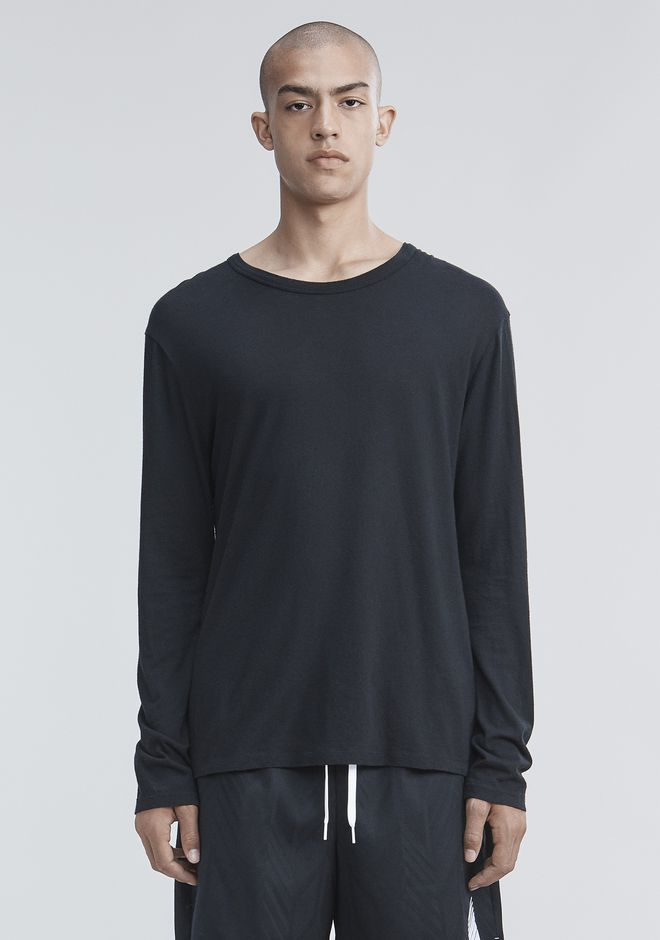 T by ALEXANDER WANG mens-classics LONG SLEEVE TEE