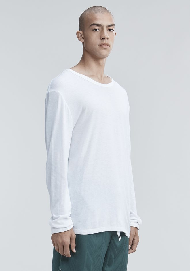 T by ALEXANDER WANG LONG SLEEVE TEE Long sleeve t-shirt Adult 12_n_a