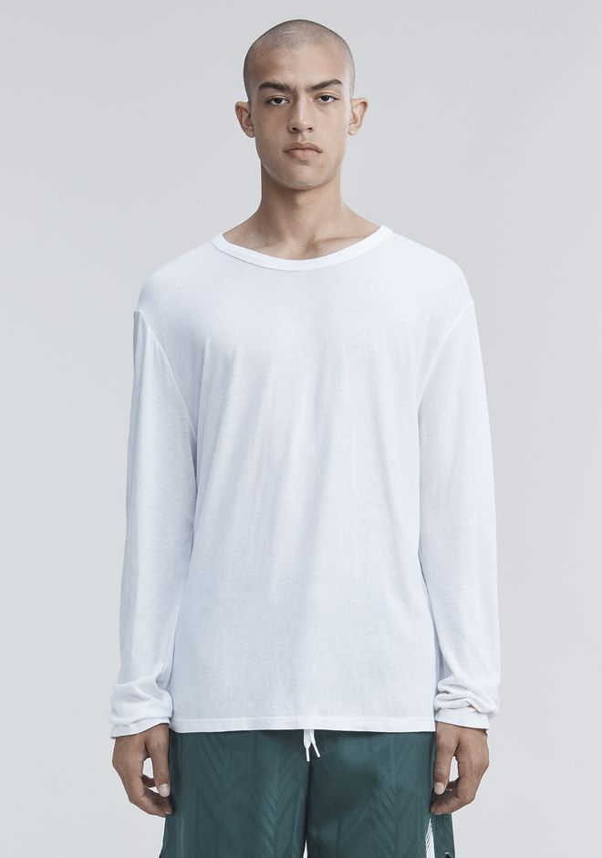 T by ALEXANDER WANG LONG SLEEVE TEE Long sleeve t-shirt Adult 12_n_e