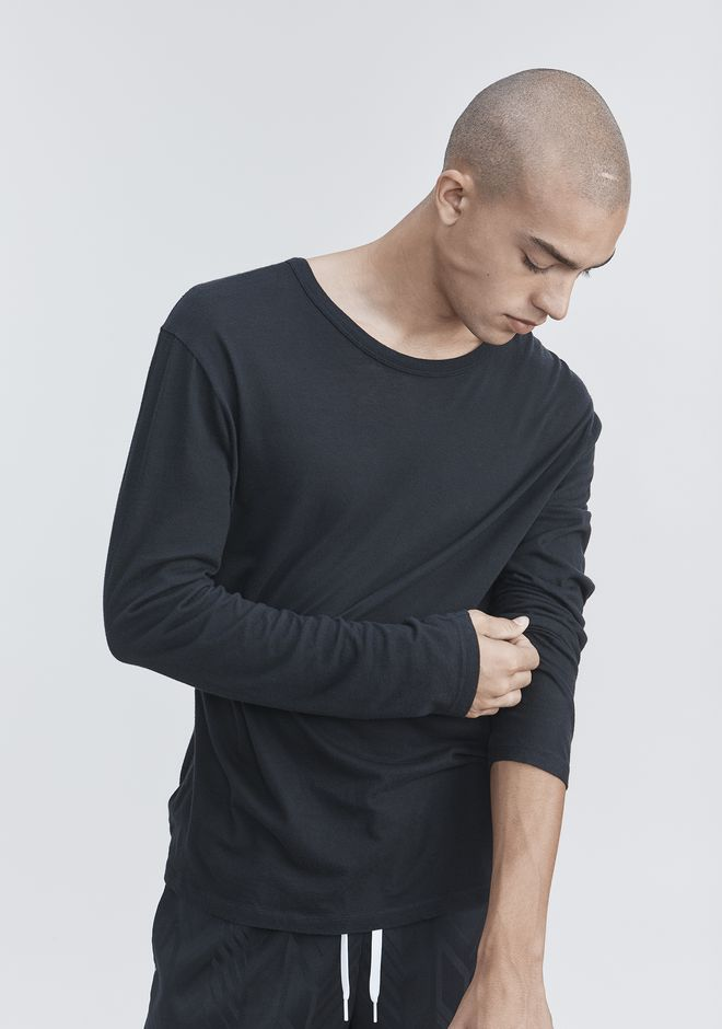 T by ALEXANDER WANG LONG SLEEVE TEE Long sleeve t-shirt Adult 12_n_r