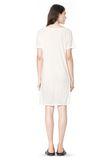 T by ALEXANDER WANG SLUB CLASSIC BOATNECK DRESS  Short Dress Adult 8_n_r