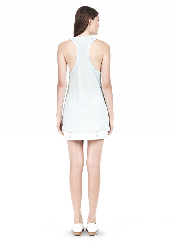 T by ALEXANDER WANG TANK WITH POCKET TOP Adult 12_n_r