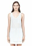 T by ALEXANDER WANG TANK WITH POCKET TOP Adult 8_n_e