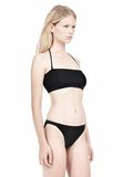 T by ALEXANDER WANG SWIM MATTE JERSEY BANDEAU WITH TRIANGLE T STRAPS Swimwear Adult 8_n_d
