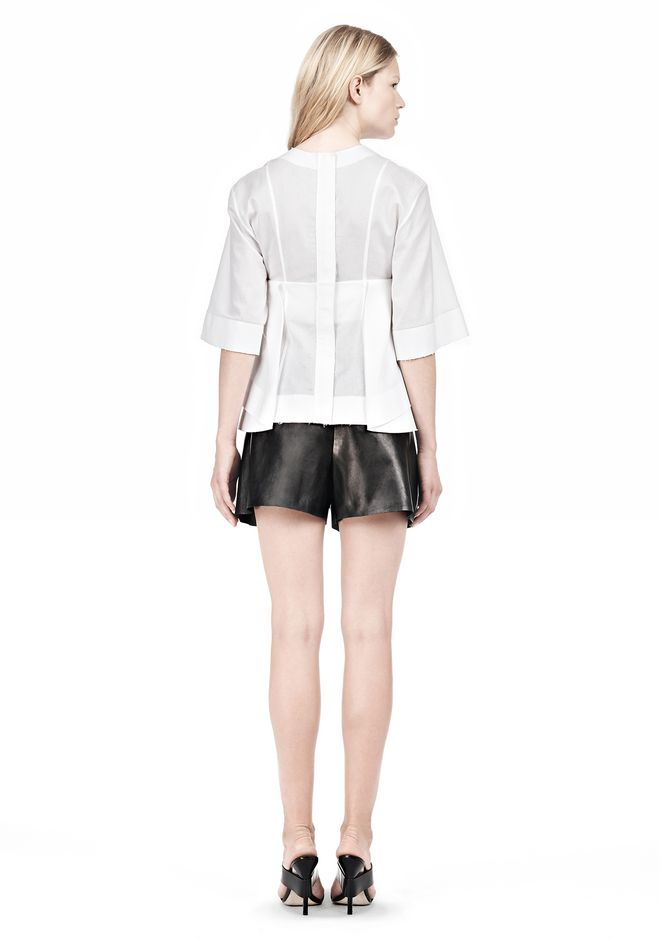 ALEXANDER WANG SUSPENDED T-SHIRT WITH BRA DETAIL Blouse Adult 12_n_r